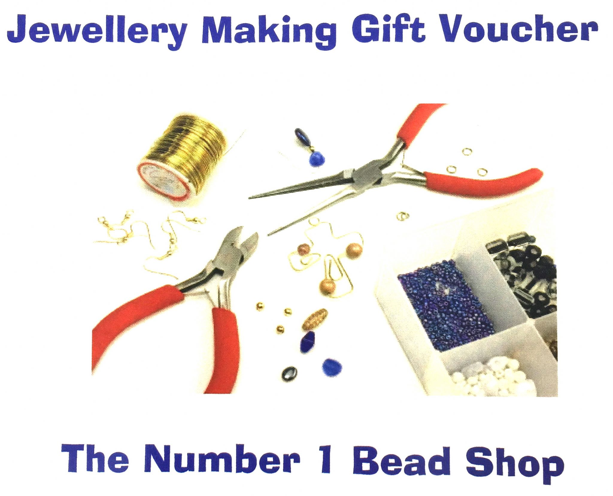 £25 JEWELLERY MAKING CLASS GIFT VOUCHER