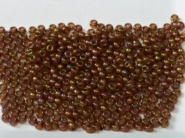 0301 SEED BEADS 11/0 ROSE GOLD LUSTER