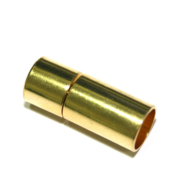 1 x 20*5mm gold plated plug in clasps - T01 - 3000005