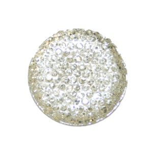 1piece x 25mm*25mm*5mm Diamond acrylic flat back clear colour -- round drop shape -- DAFB001