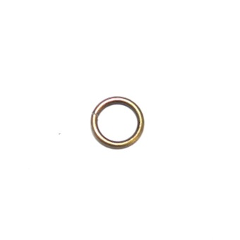 200 x Antique Brass Open Jump Ring 0.8x6mm - S.F5 - WA205 - HS00125CCE