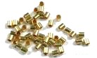 500 X 1.5MM Gold Plated Crimps FGD1001