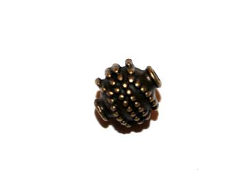 7 Pces x Antique Brass Ball Alloy Charm #ACH0043 Size 10MM X 10MM