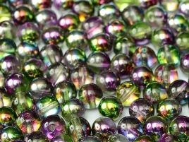 95000 ROUND MAGIC 6 MM CRYSTAL MAGIC ORCHID (50 pieces)