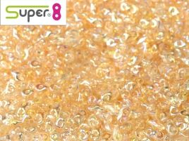 98531 SUPER8® 2,2 X 4,7 MM CRYSTAL YELLOW RAINBOW  (5 grams)