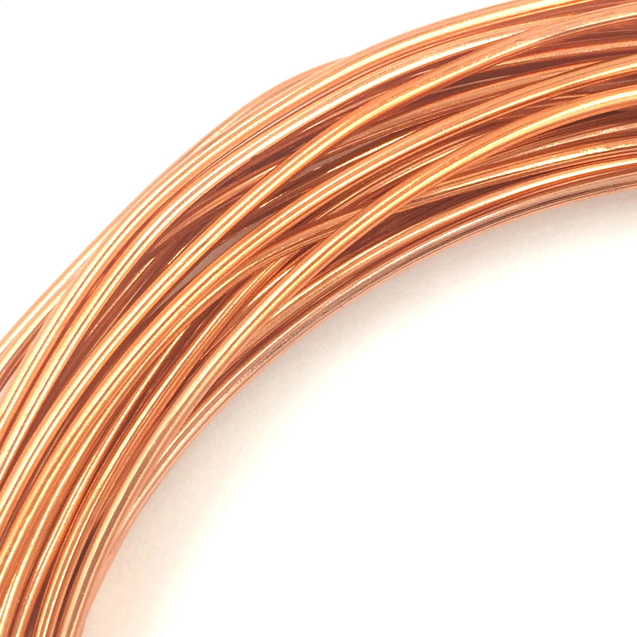Aluminium wire 10 metre coil thickness 08mm colour copper keyboard keysfo Gallery