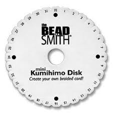 Beadsmith Kumihimo Mini Disk 10.5cm / 4 1/4 inches kd002