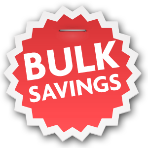Bulk Discounts- Add discount token to your order and receive FREE beads